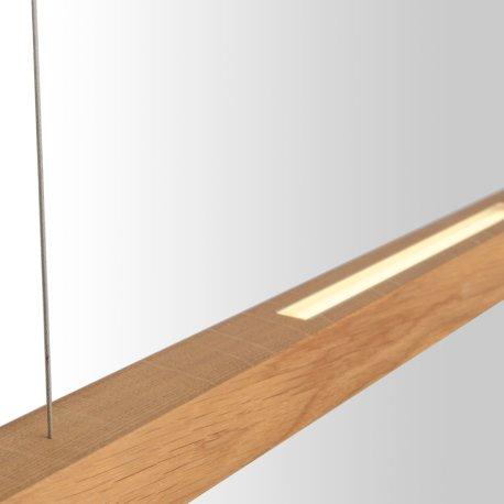 holz und led als lampe kombiniert | stÜckholz titlis, Gestaltungsideen